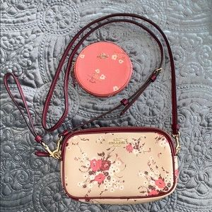 Coach Authentic Beechwood Floral Crossbody/Clutch